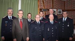 v.l. Michael Sander, Manfred Baltzer, Thorsten Persuhn, Andreas Maaß, Christoph Münkel, Jan Thiede, Mathias Gaehn und André Sonntag
