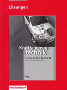 Kraftfahrzeugtechnik Gesamtband