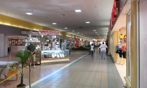 Inside the south concourse