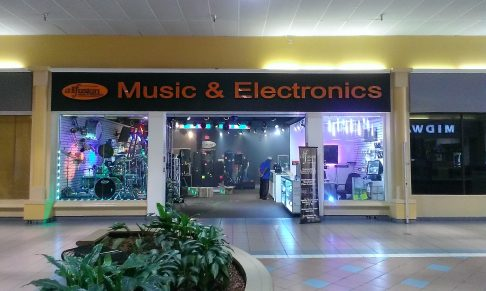 This store's held on for quite a while. It sells DJ and musical equipment and they can crank the volume to 11 without bothering anyone!!
