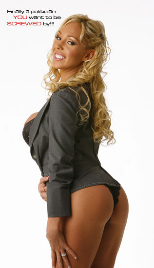 IMAGE: Mary Carey for governor