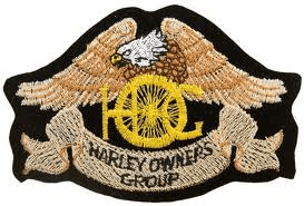 Harley Owners Group patch