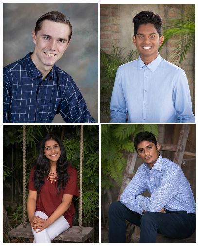 Four students receive National Merit Scholarship