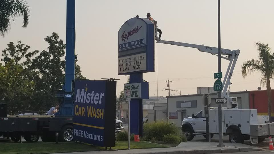 New changes underway for Mister Car Wash