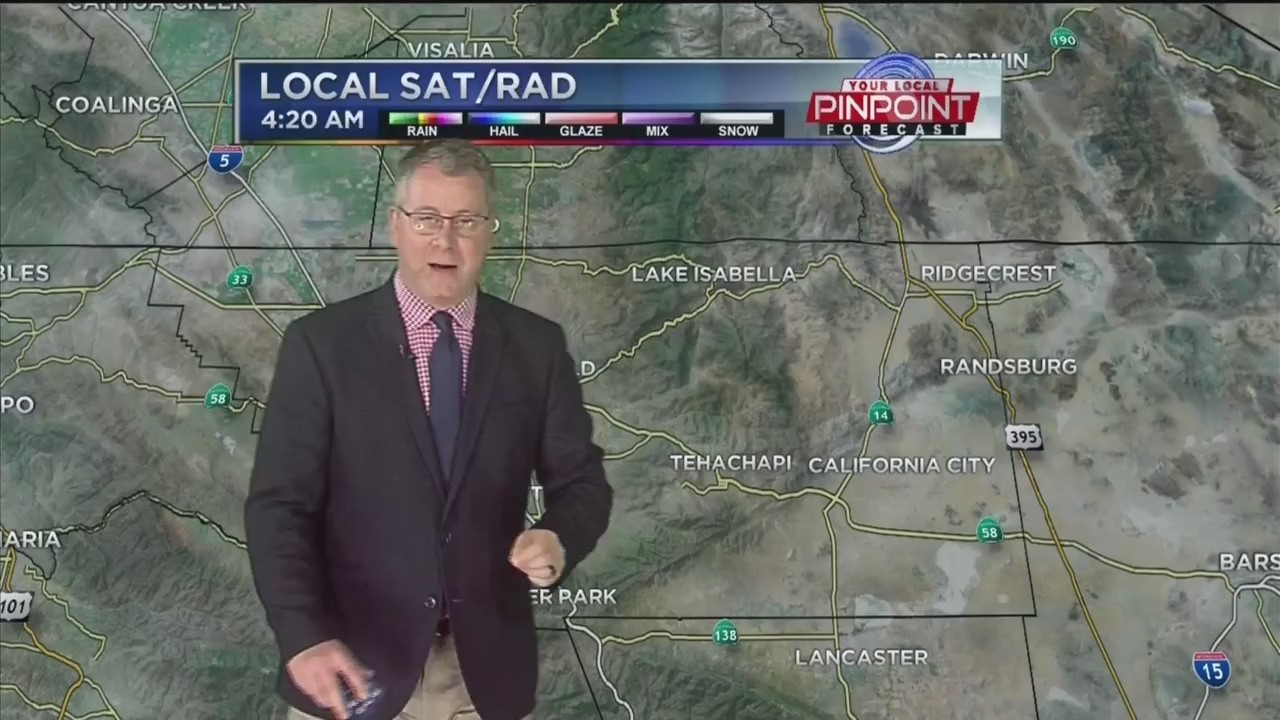 Kevin's Tuesday Forecast
