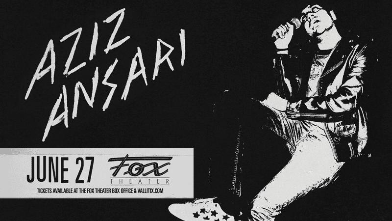 Aziz Ansari Road To Nowhere tour