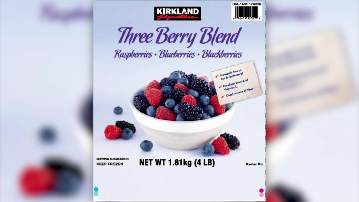 RECALL: Voluntary recall issued for frozen berries sold at Costco