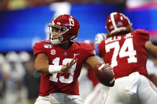 Tagovailoa leads No  2 Alabama to 42-3 rout of Duke – KGET 17