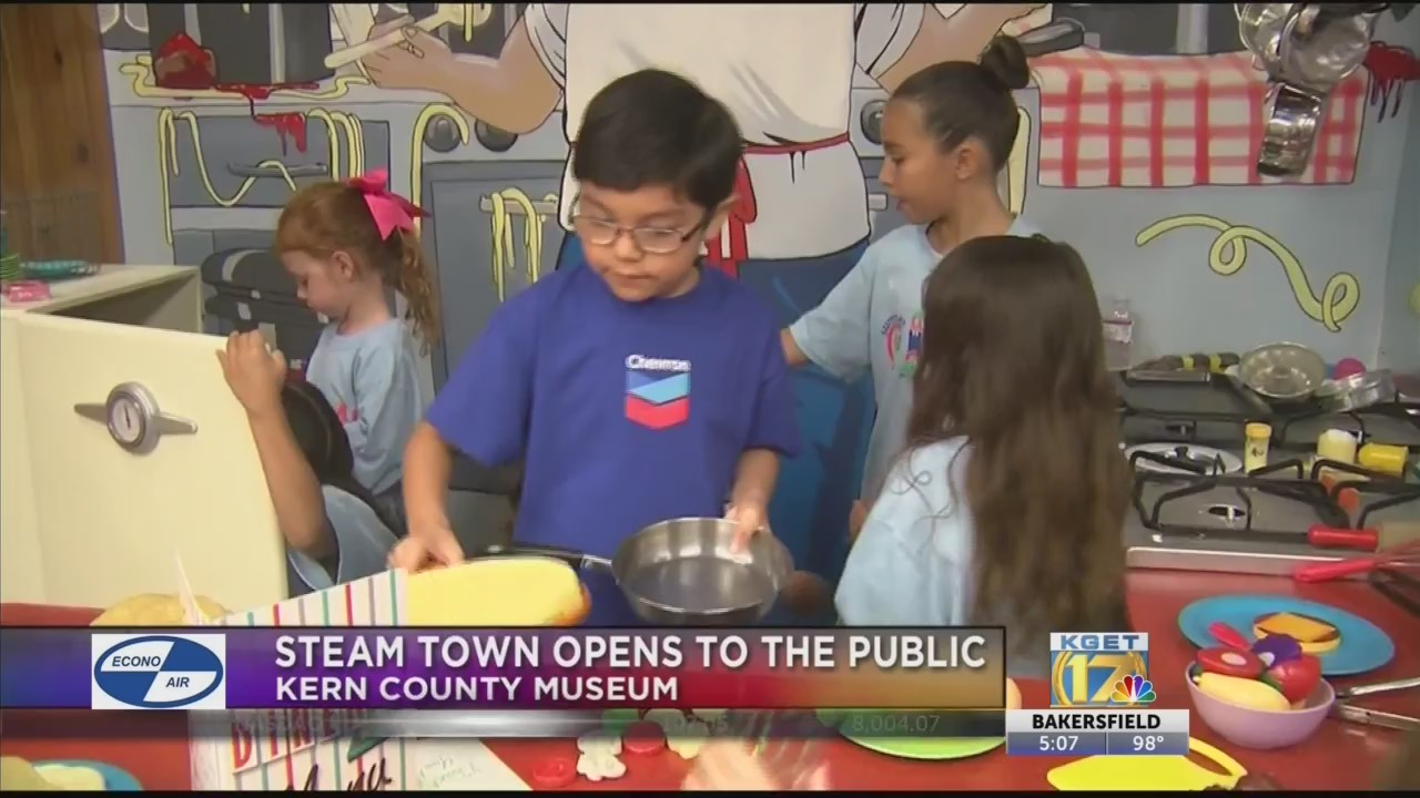 STEAM Town opens at Kern County Museum | KGET 17