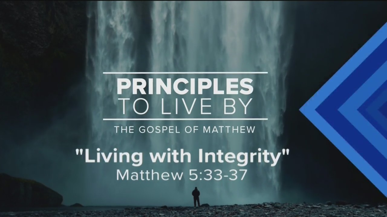 Today's Walk - Living with Integrity