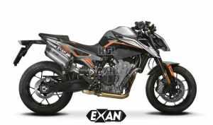 Exan uitlaat voor KTM duke 790