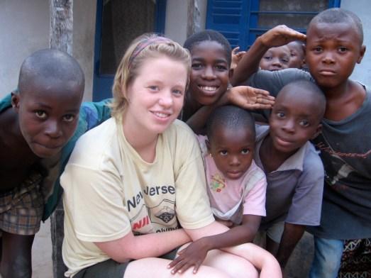 Sarah Davies, KGSF emissary