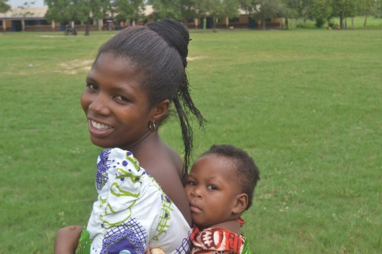 Emefa and her daughter
