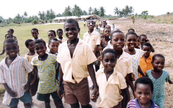 1991, Eric, Sylvanus, Akoeallah, Kofie and friends