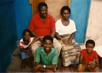 Mary, Godwin, Emmanuel, Abla, Nani