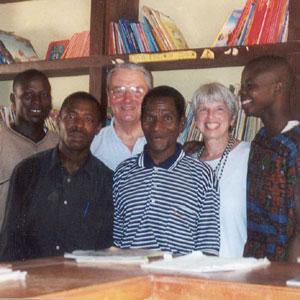 Simon Akutu, Charles Godzor, Nick Van Dyck, Blankson Sodzedo, Marcia Van Dyck, Michael Agbodeka