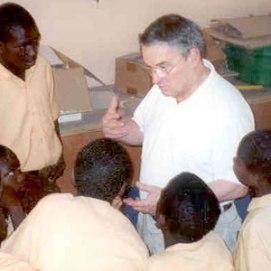 Nick Van Dyck teaching at KOBLAS