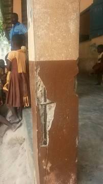 Kopeyia School building in need of repair