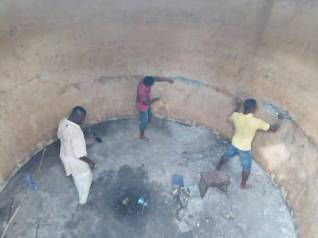 repair water tank