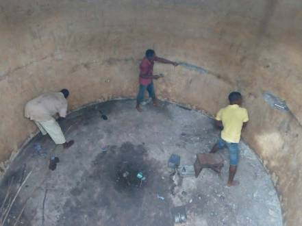 Kopeyia School Water Tank repair 2018