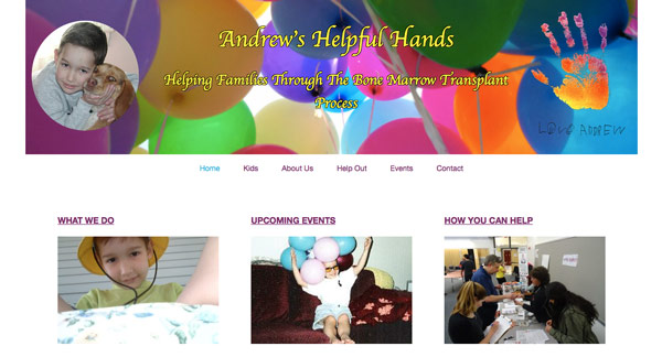 Andrew's Helpful Hands Homepage