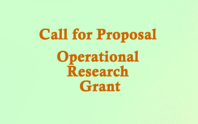Call for Proposal- Operational  Research  Grant