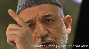 Karzai questions NATO troosp fight against terrorism in Afghanistan
