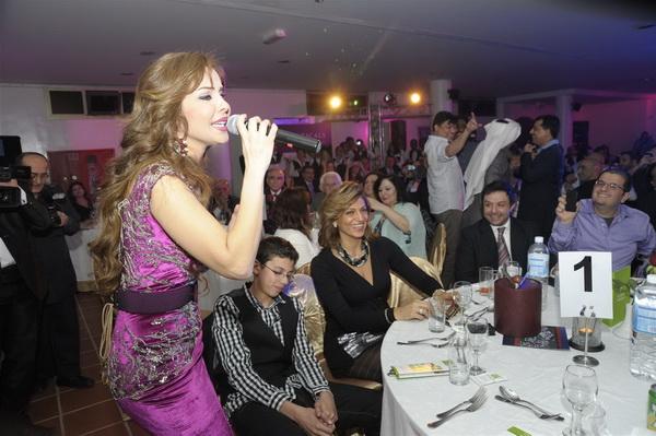 Rola Saad in Performance- 8