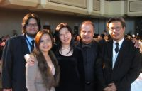 Chahine with Ng Wan Peng and other film makers from Malaysia IMG_2284