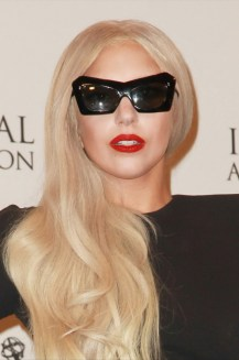 Lady Gaga at the International Emmy Awards