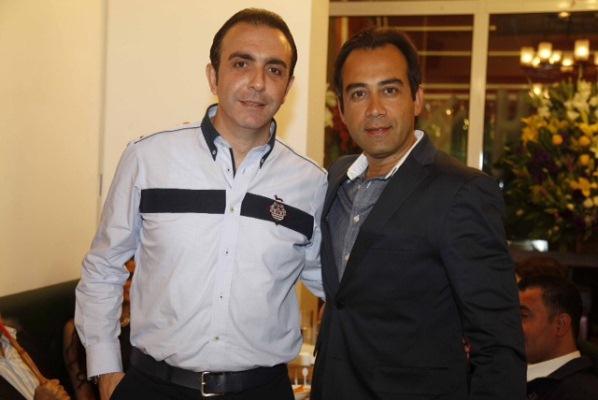 السيد نبيل بدر و الاعلامي حسام زبيبو