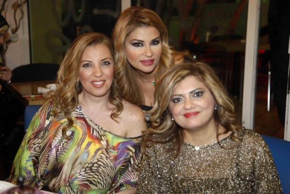 رانيا زيدان و رنا المنلا و هادية رمضان
