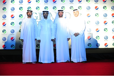 Khaled Al shafi & Fayez Al Saeed & Mansour Zayed & Salem El Hendi