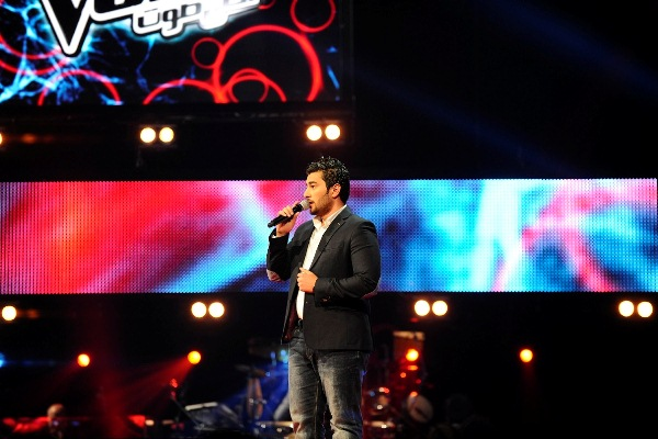 MBC1 & MBC MASR The Voice S2 ep 4 - Samer Saeed - Kazem's Team (3)