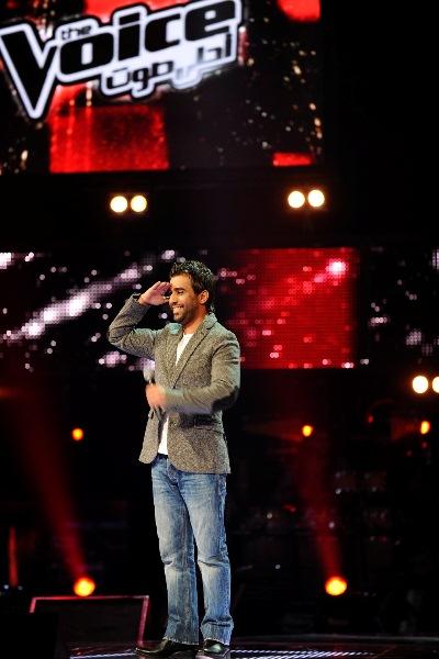 MBC1 & MBC MASR The Voice S2 ep4 - Mohammed Al Fares Saber's Team  (1)