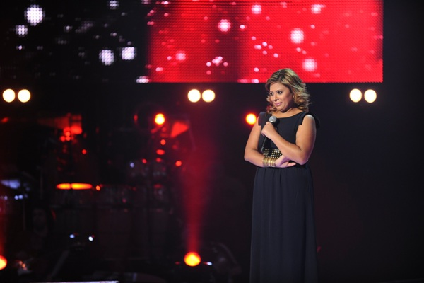 MBC1 & MBC MASR The Voice S2 - episode2 - Amira Saeed - Chirine's Team
