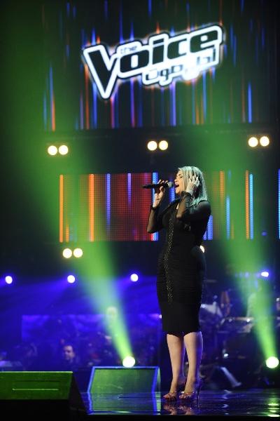 MBC1 & MBC MASR The Voice S2 - episode2 -  Hala Al Qassir - Assi's Team