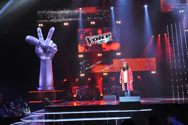MBC1 & MBC MASR The Voice S2 - episode2 - Rita Movasisian-Kazem's Team (2)