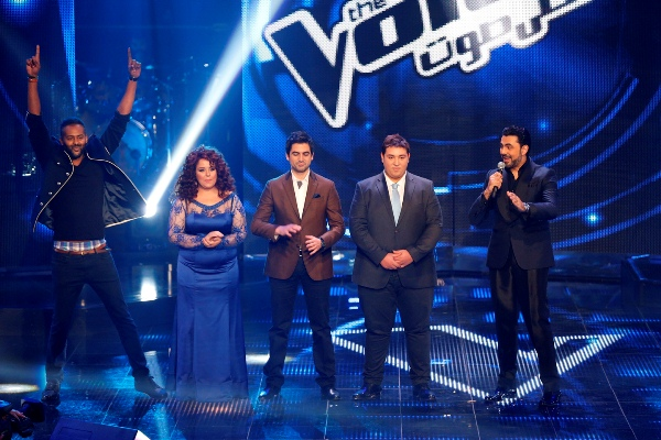 MBC1 & MBC MASR The Voice S2 - Live Round - Live2 - Results 1 - Sherine's team