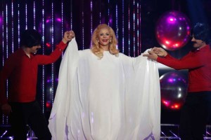 MBC4 & MBC MASR- Your Face Sounds Familiar- Bassima impersonating Sabah (2)
