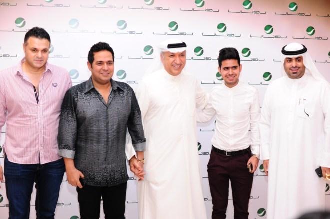 Mr Salem between Hatem & Qais AlIraqi, Anwar & Ammar