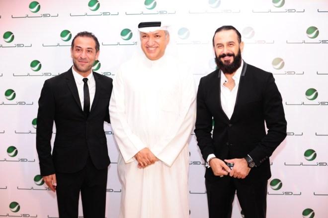 Mr Salem between Qusai AlKhawli & AbdelMen'em Amayri