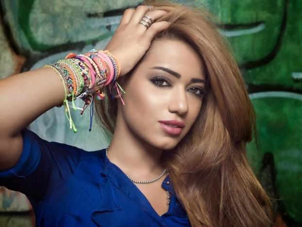 Rahma Riad blue