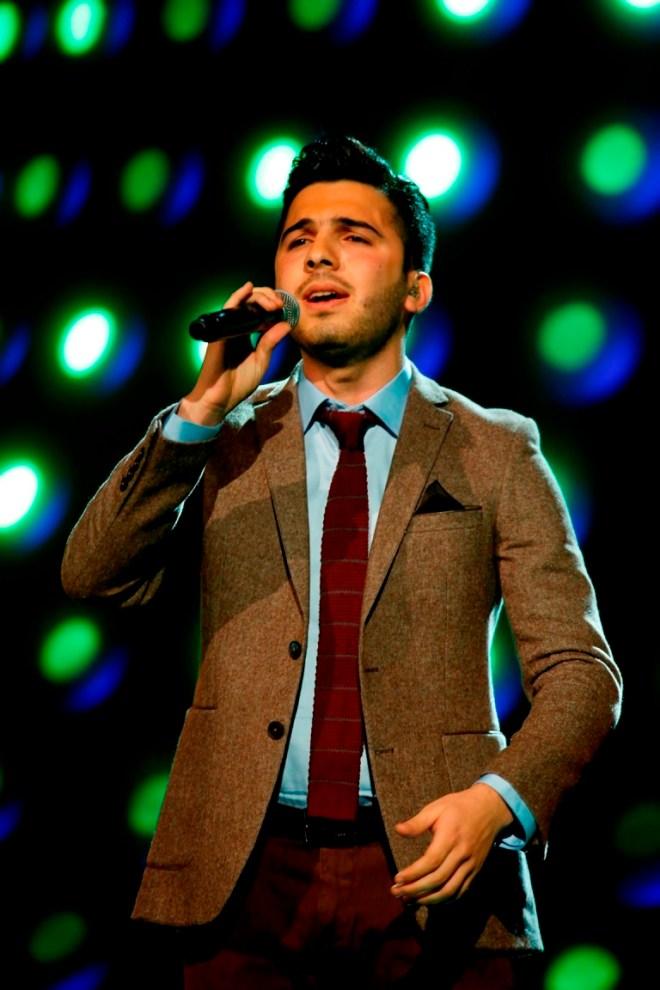 MBC1 & MBC MASR Arab Idol S3 - Live Round - Hazem Sharif (2)