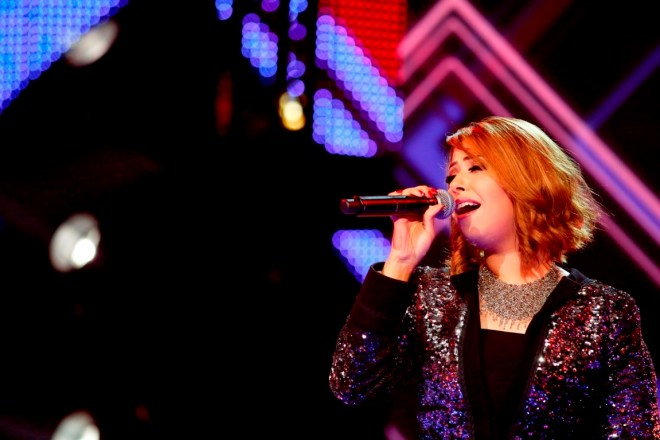MBC1 & MBC MASR Arab Idol S3 - Live Round - Inass Ezzedine (2)