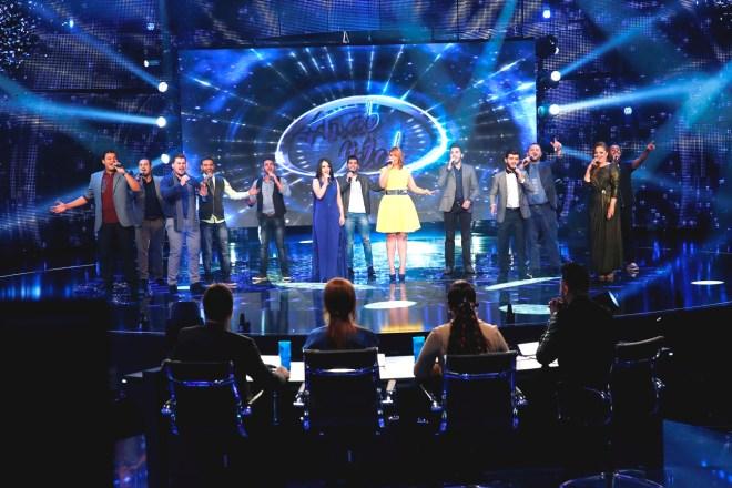 MBC1 & MBC MASR Arab Idol S3 - Live Round -  Medley - 13 contestants