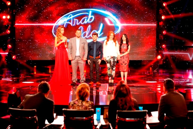 MBC1 & MBC MASR Arab Idol S3 - Live Round -  Results episode - Group Results  (4)