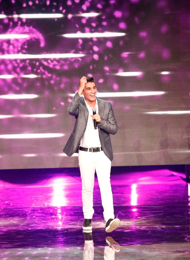 MBC1 & MBC MASR Arab Idol S3 - Live Round -  Results episode- Mohamad Assaf