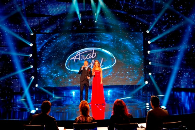 MBC1 & MBC MASR Arab Idol S3 - Live Round -  Results episode- Presenters