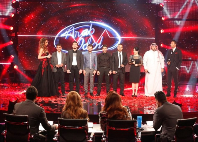 MBC1 & MBC MASR Arab Idol S3 - Live Round -  Results episode -  Group Results - Finalists